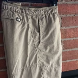 North face outdoor activity shorts